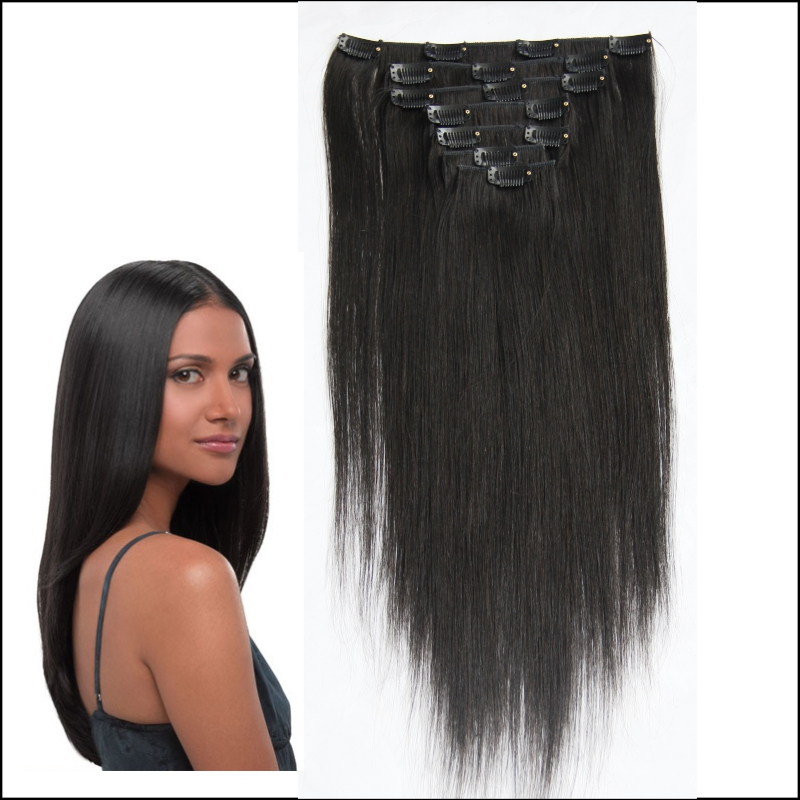 Clip Ins Hair Extensions 3800 Lalavirginhair Sell High