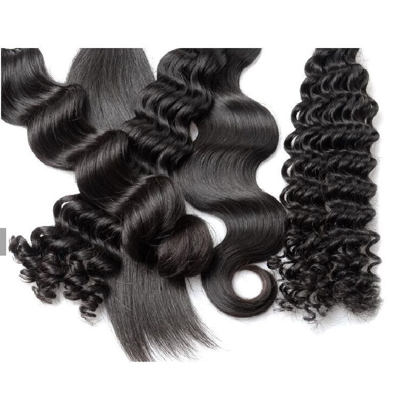 2 bundles sale 100% human virgin hair weave