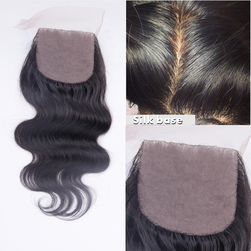 9, Silk base closure 4*4